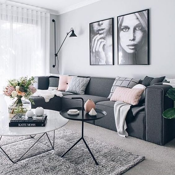 16 Outstanding Grey Living Room Designs That Everyone Should See Photo