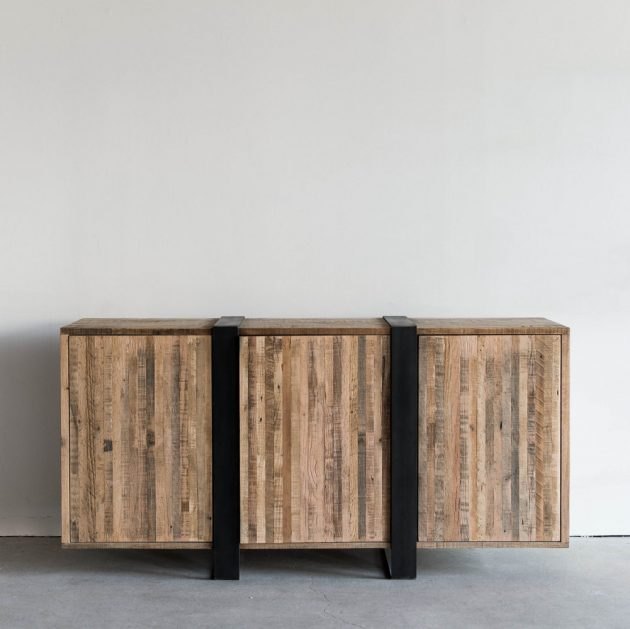 Compelling Handmade Media Console Designs For Your Living Room