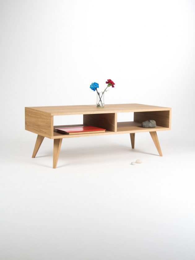 15 Compelling Handmade Media Console Designs For Your Living Room Part 38