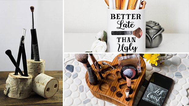 15 Cool And Practical Handmade Makeup Organizer Designs