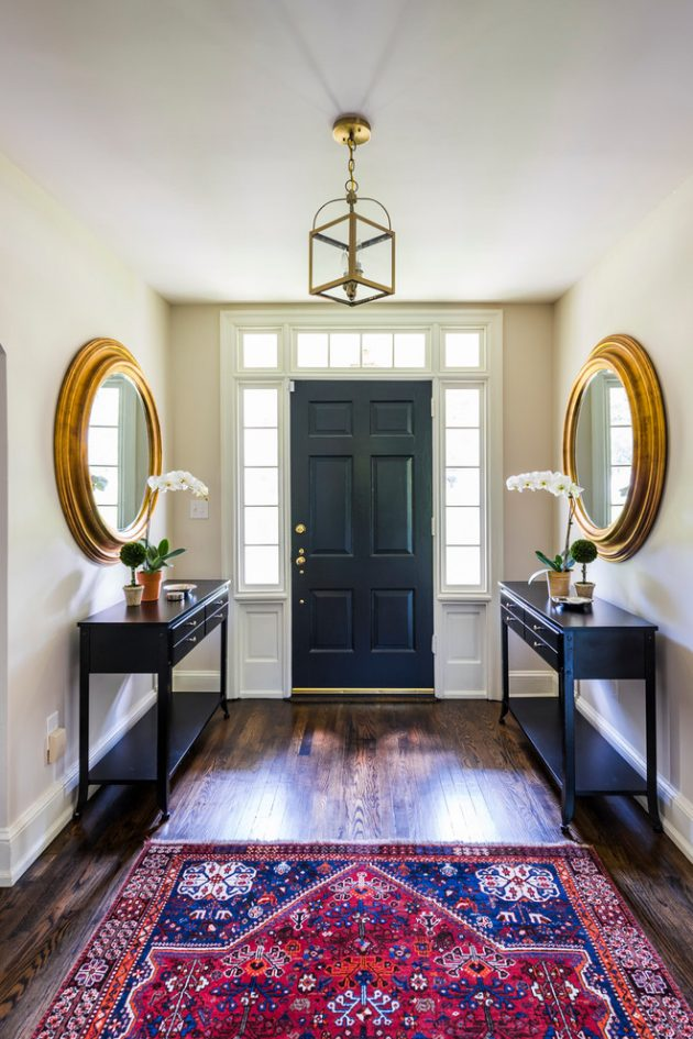 15 Embracing Transitional Foyer Designs That Youll Adore
