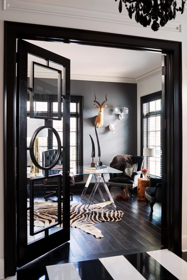 15 Inspirational Transitional Home Office Designs For Increased Productivity