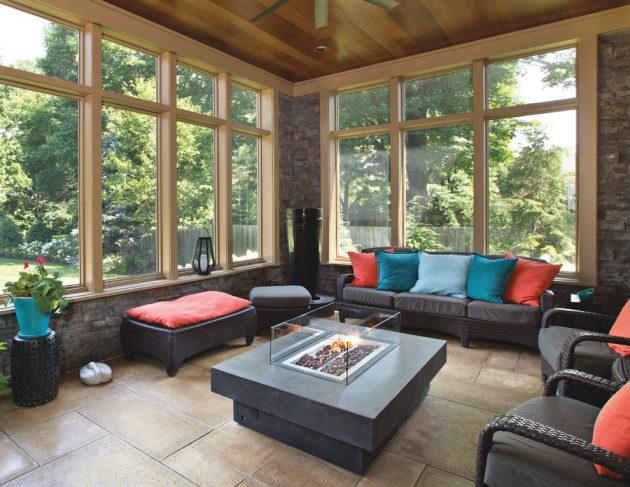 15 Splendid Transitional Sunroom Designs Youll Love To Have In Your Home