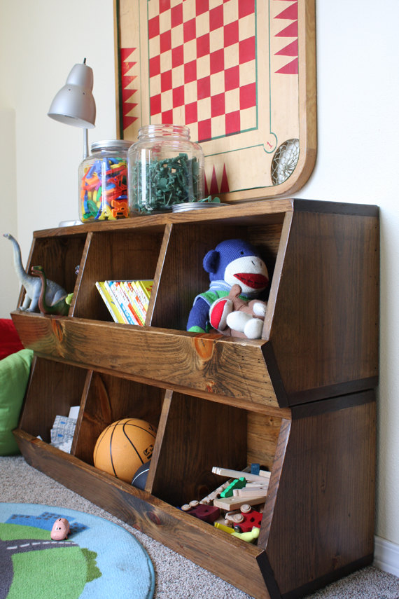 15 Stunning Toy Storage Designs That