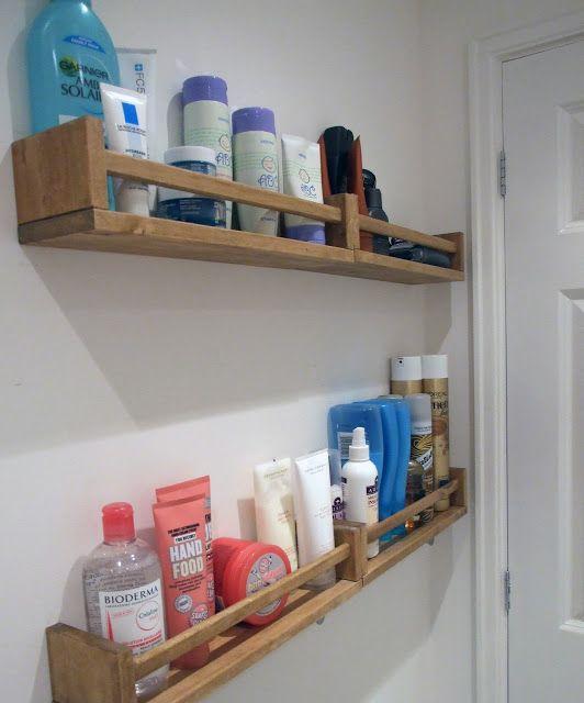 16 Fascinating DIY Shelves For Better Bathroom Organization