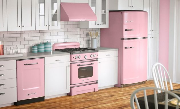 17 Attractive Pink Kitchens For Everyone Who Thinks Outside The Box