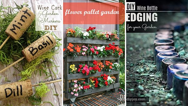 16 Fantastic DIY Ideas For Your Garden You Should Try This Spring