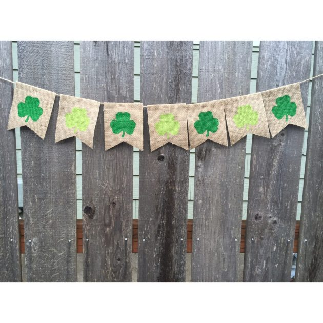 16 Lucky Last Minute Handmade St. Patricks Day Decorations