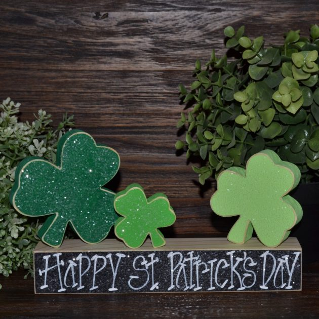 16 lucky last minute handmade st patricks day decorations - St Patricks Day Decorations