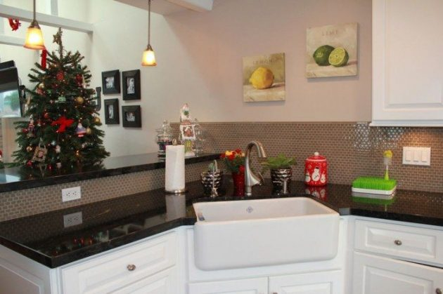 18 Space Saving Corner Sink Ideas That Are Ideal For Small Kitchens