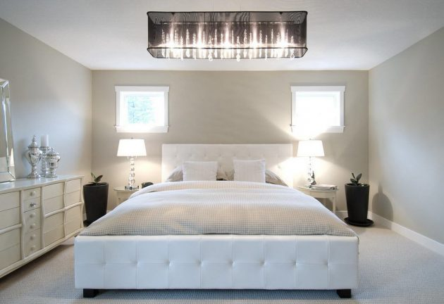 18 Brilliant Chandelier Designs For Your Master Bedroom