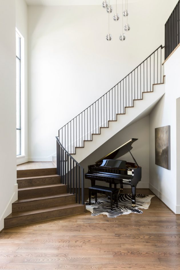18 Graceful Transitional Staircase Designs Your Home Longs For