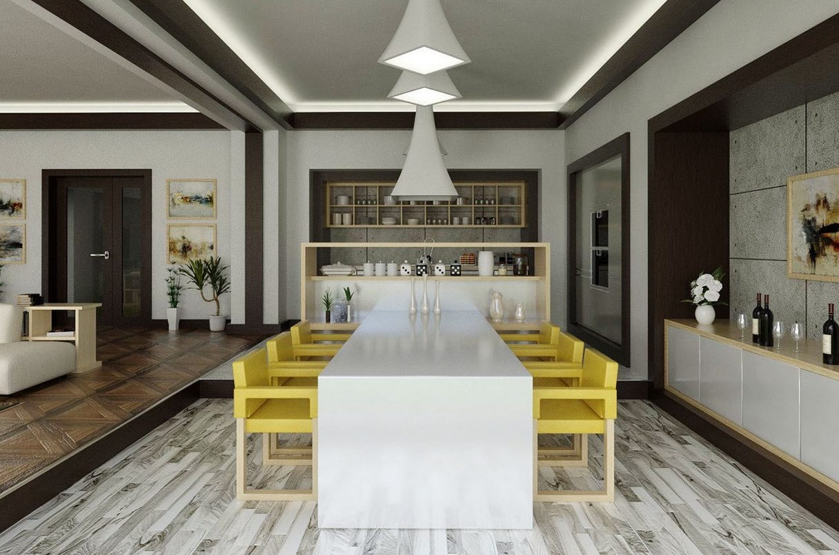 19 exceptional modern dining room ideas that are worth seeing - Modern Dining Rooms Ideas