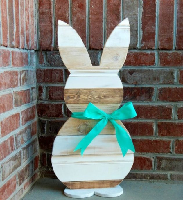 20 Super Easy DIY Wooden Decorations To Beautify Your Home This Easter