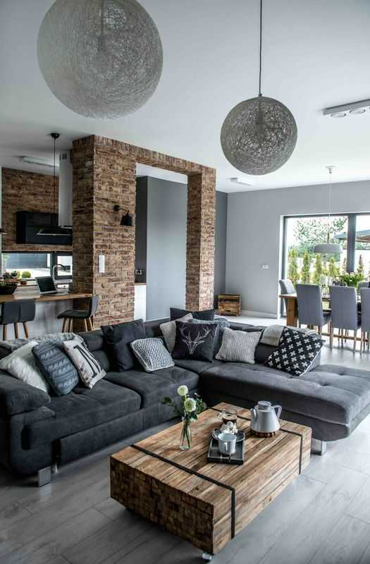 Simple Living Room Interior Design: 16 Outstanding Grey Living Room Designs That Everyone