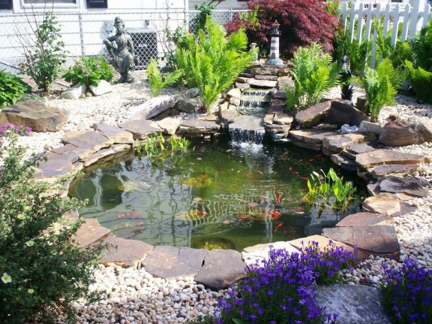 15 Awe-Inspiring Garden Ponds That You Can Make By Yourself