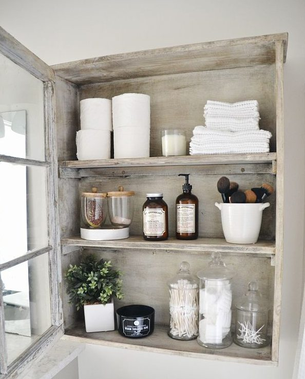 Diy Shelves For Small Bathrooms: 16 Fascinating DIY Shelves For Better Bathroom Organization