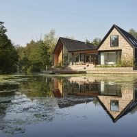 Backwater House by Platform 5 Architects in Norfolk, UK