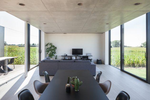 CASWES House by TOOP architectuur in Heuvelland, Belgium