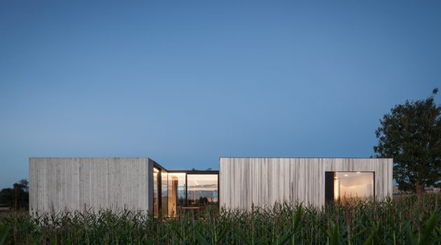 CASWES House by TOOP architectuur in Heuvelland, Belgium