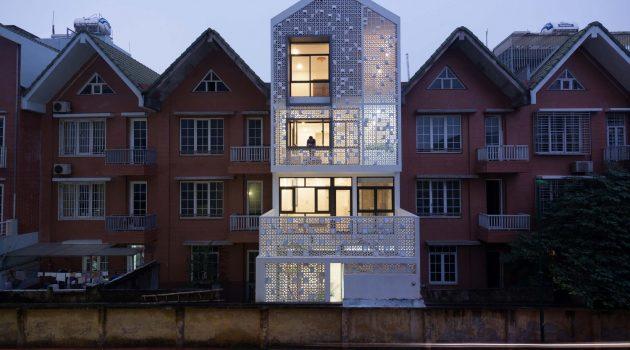 Cocoon House by Landmak Architecture in Vietnam
