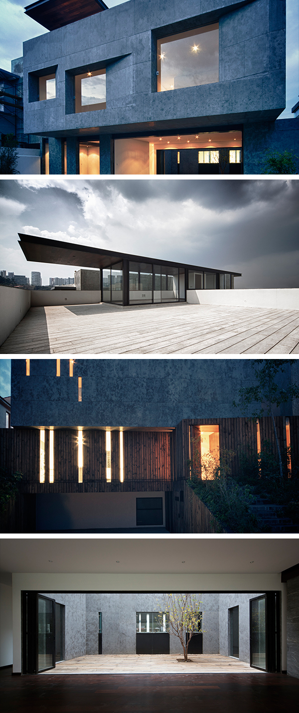 Cumbres House by Taller Hector Barroso in Mexico