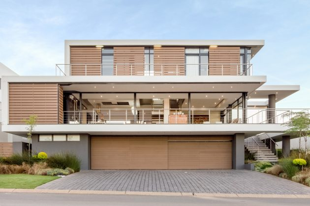 House Vista by Gottsmann Architects in Johannesburg, South Africa