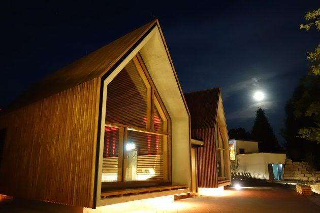Jordanbad Sauna Village by Jeschke Architektur & Planung in Biberach, Germany