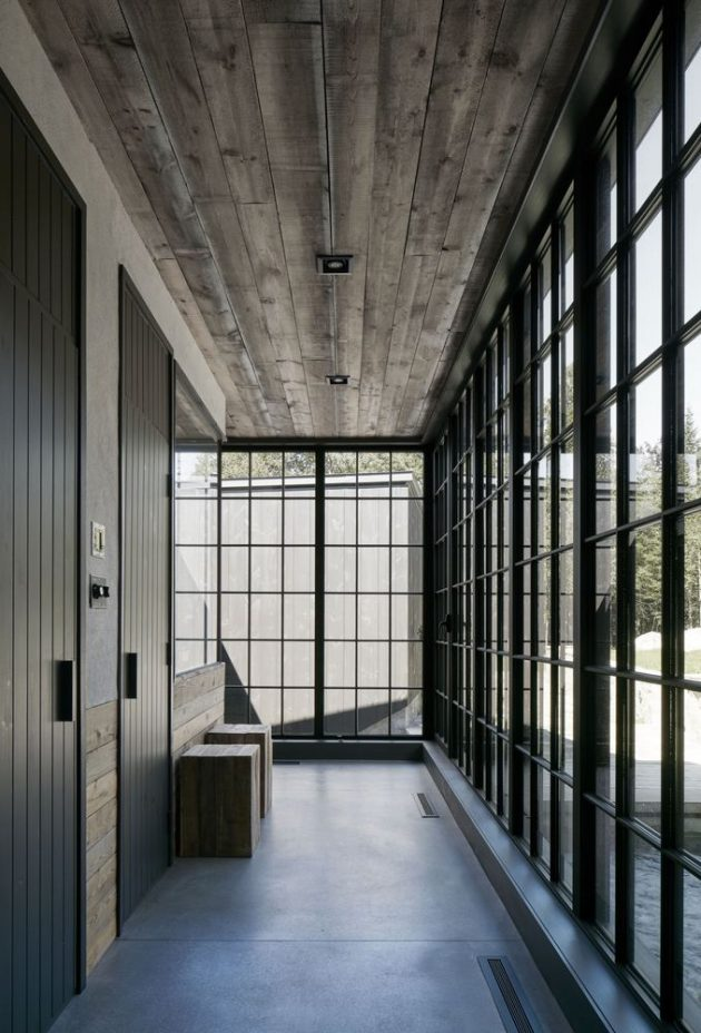 MG2 Residence by Alain Carle Architecte in Quebec, Canada