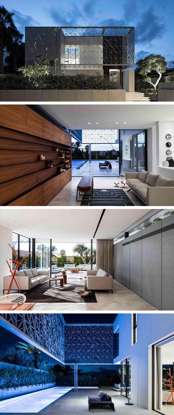 N2 House by Pitsou Kedem Architects in Hezeliya Pituach, Israel