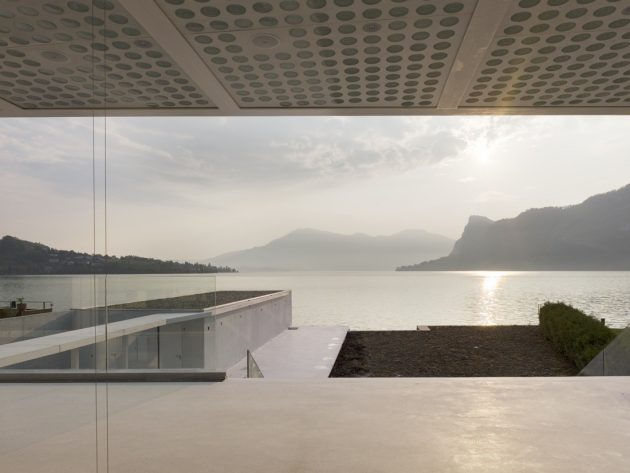 O House by Philippe Stuebi on Lake Lucerne in Switzerland