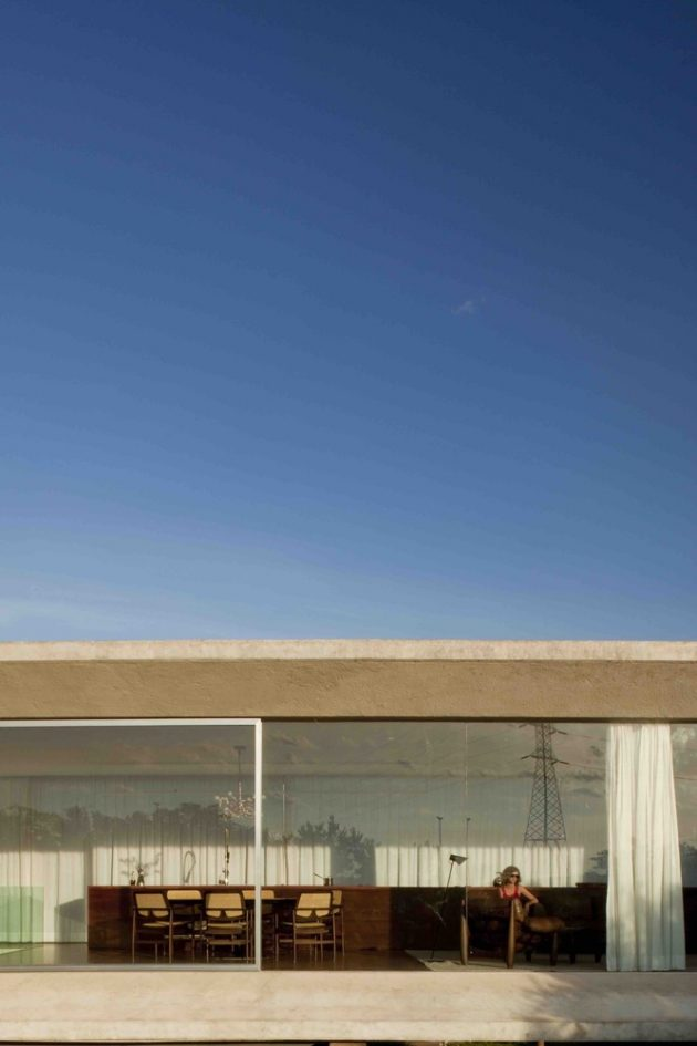 Osler House by Studio MK27 in Brasilia, Brazil