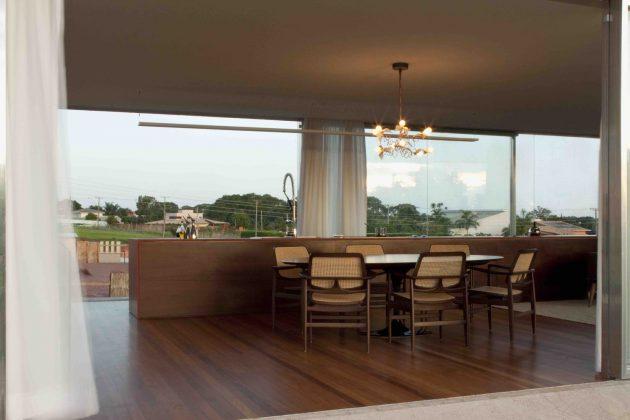 Osler House by Studio MK27 in Brasilia, Brazil