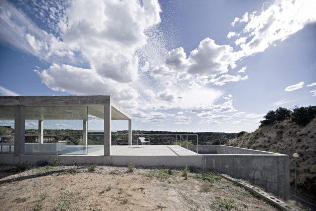 Rufo House by Alberto Campo Baeza in Toledo, Spain