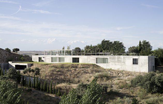 Rufo house by alberto campo baeza in toledo spain - Casa campo baeza ...