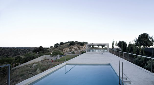 Rufo House by Alberto Campo Baeza in Toledo, Spain