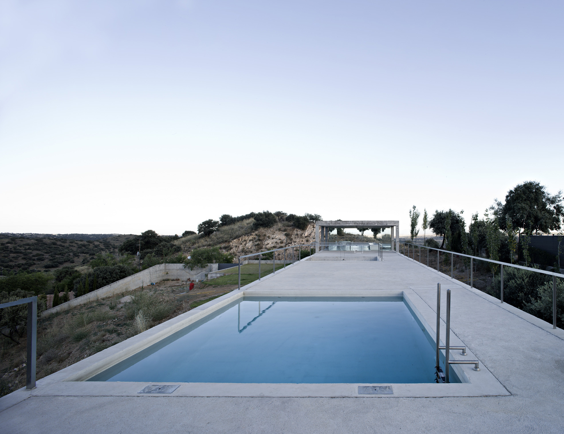 rufo house by alberto campo baeza in toledo spain