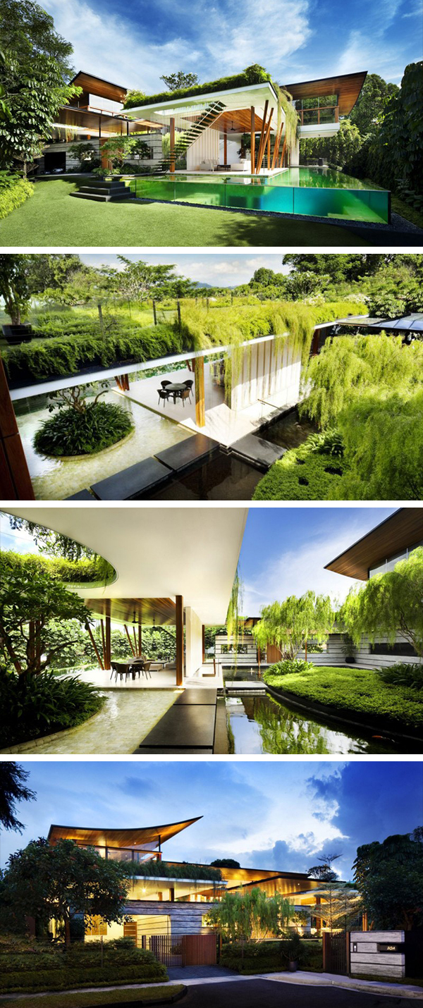 The willow house by guz architects in singapore for The willow house