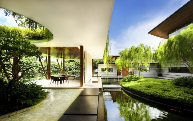 The Willow House by Guz Architects in Singapore