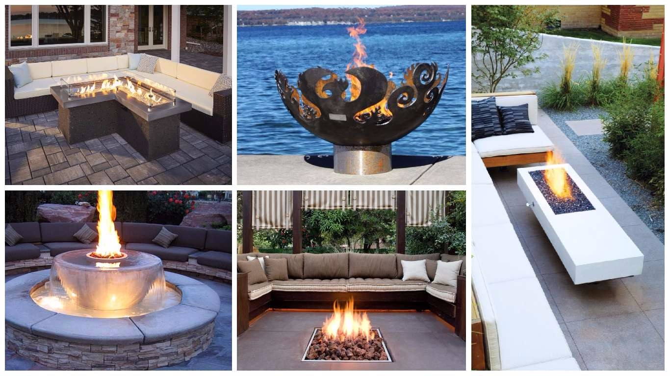 Extravagant Backyards 17 Extravagant Backyard Fireplaces Fire Pits That Will