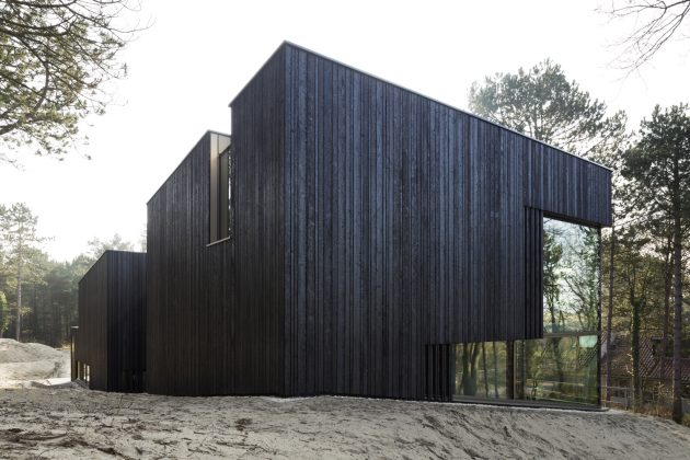 Villa Meijendel by VVKH Architecten in Doornweg, The Netherlands