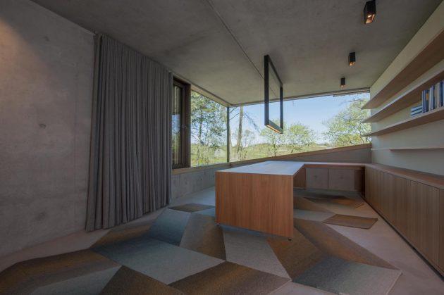 Villa Meijendel by VVKH Architecten in Doornweg, The Netherlands