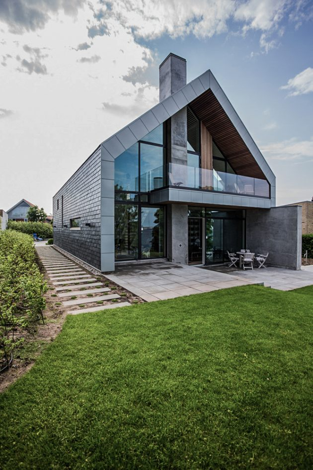 Villa P by N+P Architecture in Denmark