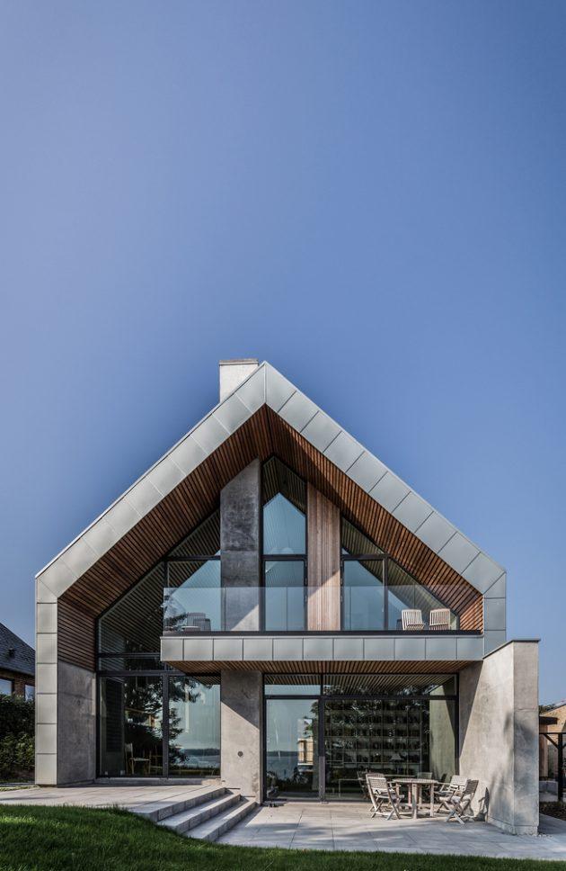 Villa P by N+P Architecture in Denmark