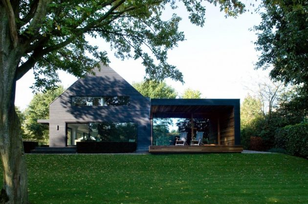 Woonhuis M by WillemsenU Architecten in North Brabant, The Netherlands