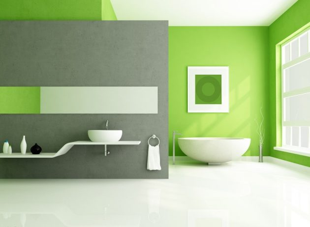 17 Cheerful Ideas To Decorate Functional Colorful Bathroom