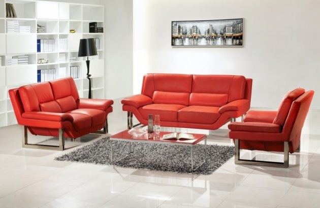 10 Outstanding Red&White Living Rooms That Are Simply Amazing