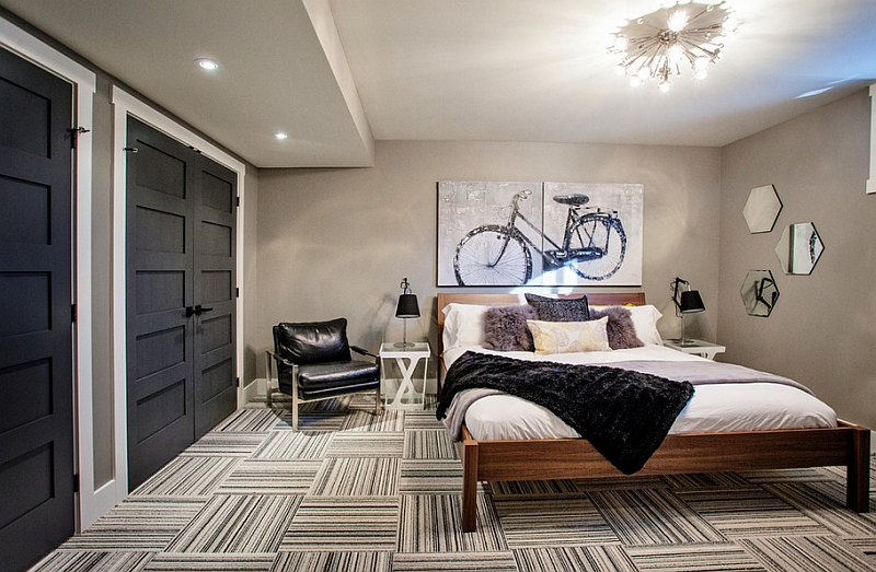 48 Awesome Basement Bedroom Designs That Are Worth Seeing Fascinating Basement Room Ideas