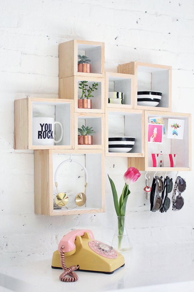 15 Amazing DIY Storage Ideas That You Are Going To Make Right Away