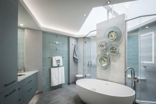 15 Majestic Contemporary Bathroom Interior Designs